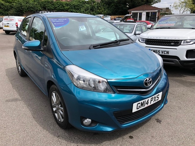 used Toyota Yaris 1.33 Icon+ (Smart pack) 5dr in rochester-kent