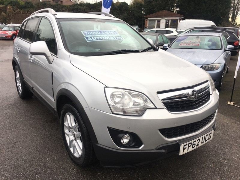 used Vauxhall Antara CDTi 16v Exclusiv 5dr in rochester-kent