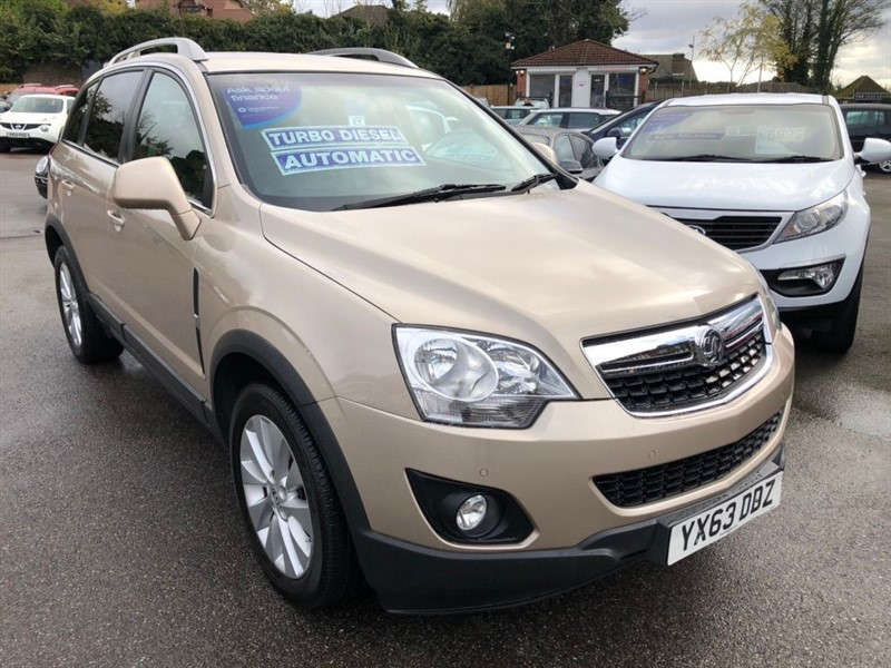 used Vauxhall Antara CDTi Diamond AWD 5dr in rochester-kent