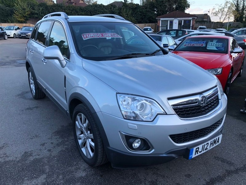 used Vauxhall Antara CDTi SE AWD 5dr in rochester-kent