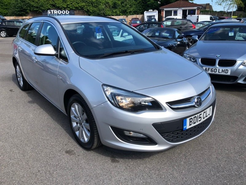 used Vauxhall Astra ecoFLEX Tech Line Sport Tourer (s/s) in rochester-kent