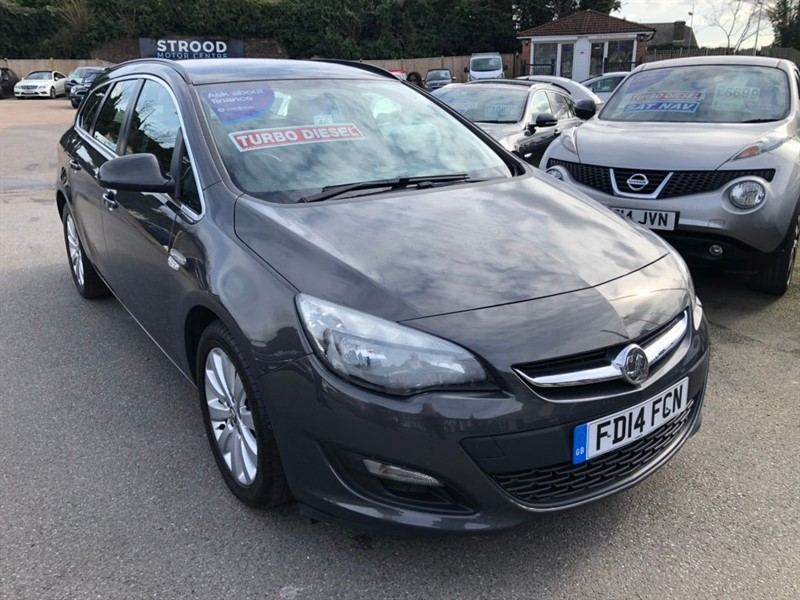 used Vauxhall Astra ecoFLEX 16v Tech Line (s/s) in rochester-kent
