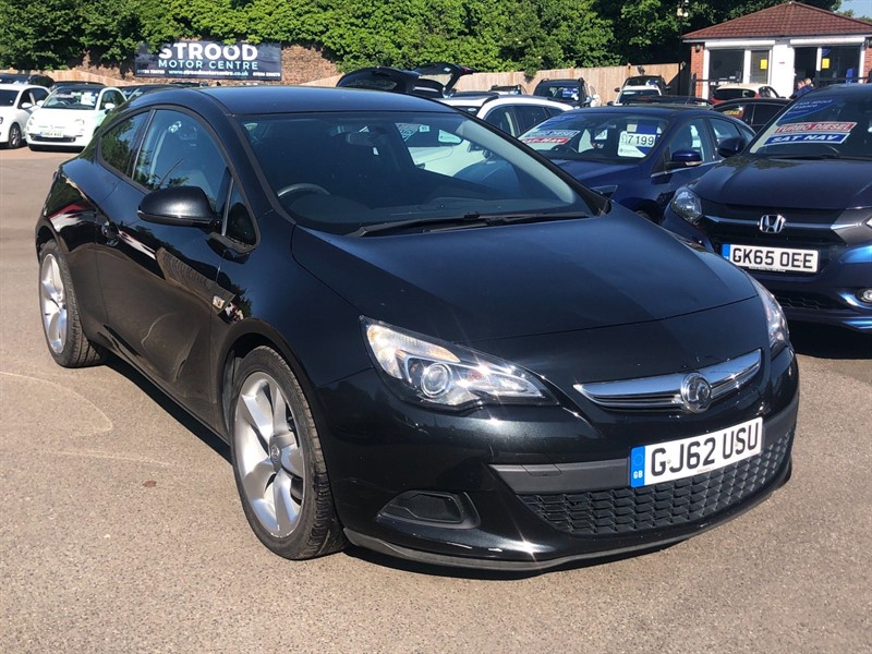 used Vauxhall Astra GTC Sport (s/s) in rochester-kent