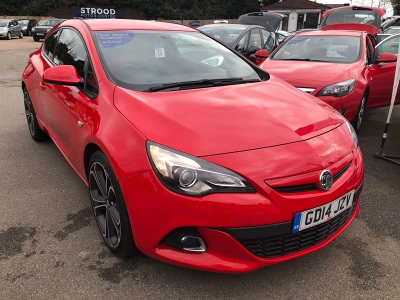 used Vauxhall Astra GTC 1.4T 16V Limited Edition (s/s) in rochester-kent
