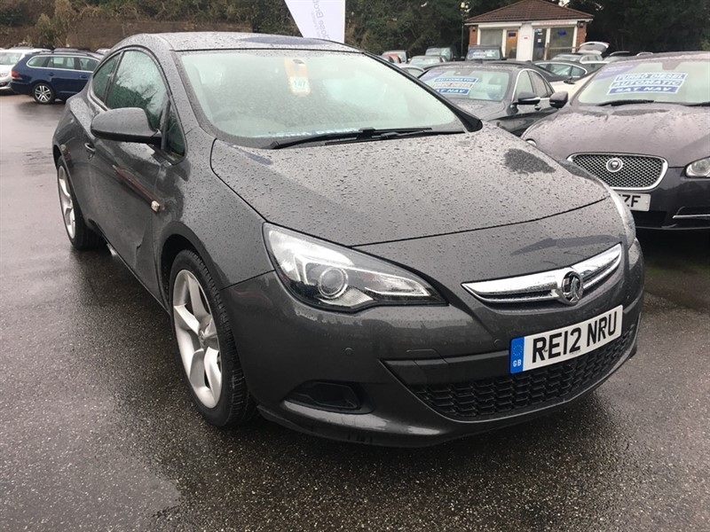 used Vauxhall Astra GTC i Turbo 16v Sport 3dr (start/stop) in rochester-kent