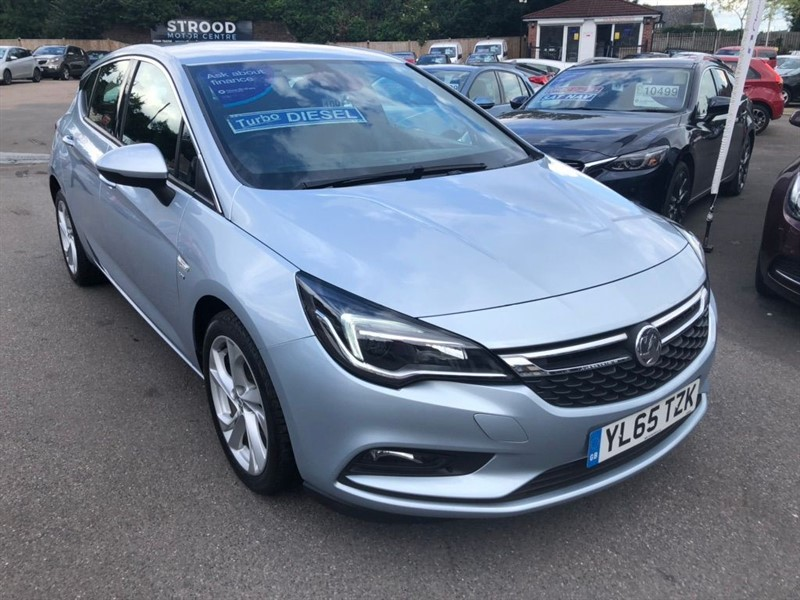 used Vauxhall Astra ecoFLEX SRi (s/s) in rochester-kent