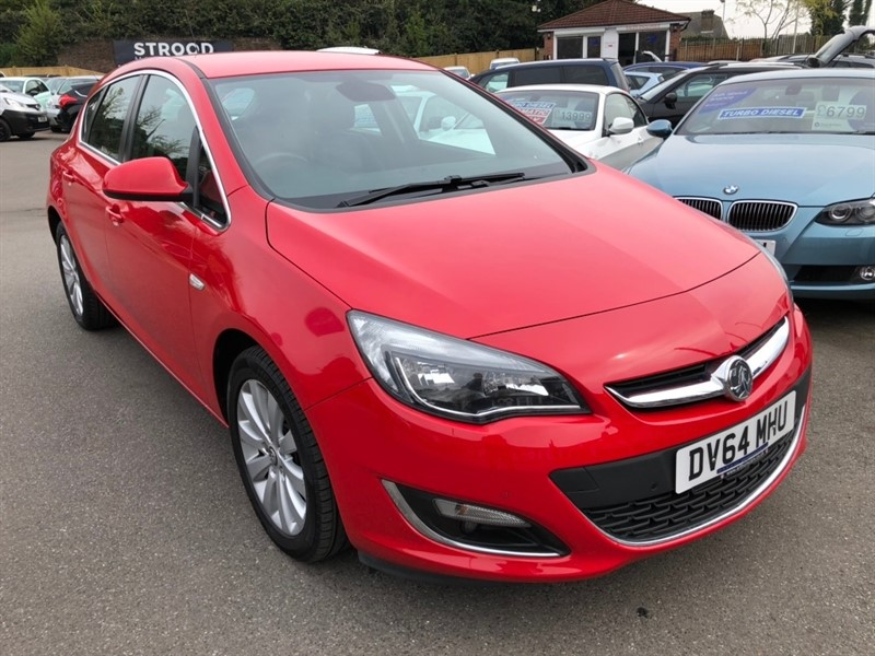 used Vauxhall Astra CDTi ecoFLEX 16v Elite (s/s) 5dr in rochester-kent