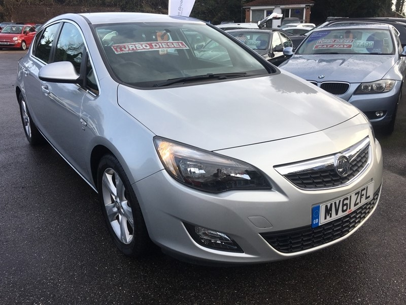 used Vauxhall Astra CDTi ecoFLEX 16v SRi 5dr (start/stop) in rochester-kent