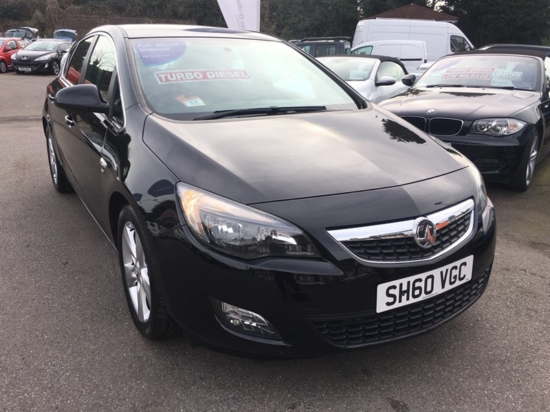 used Vauxhall Astra CDTi ecoFLEX 16v SRi 5dr in rochester-kent