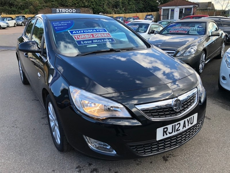used Vauxhall Astra CDTi 16v Elite 5dr in rochester-kent