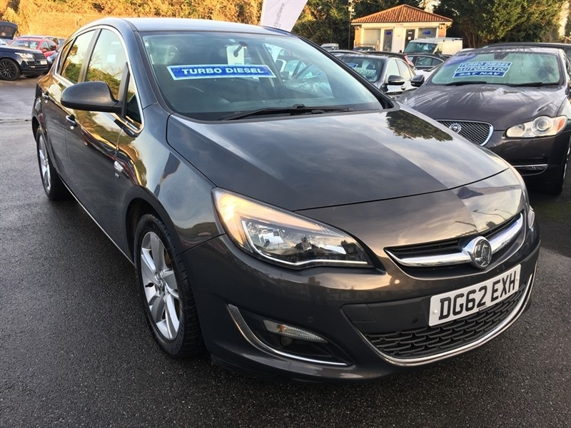 used Vauxhall Astra CDTi ecoFLEX 16v SRi 5dr (start/stop) in rochester-kent
