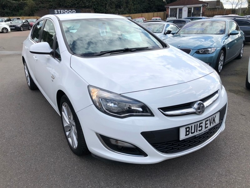 used Vauxhall Astra CDTi ecoFLEX SRi (s/s) 5dr in rochester-kent