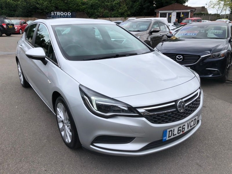 used Vauxhall Astra Turbo Design in rochester-kent