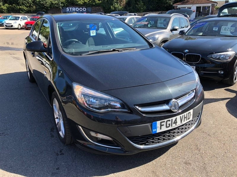 used Vauxhall Astra 16v SRi 5dr in rochester-kent