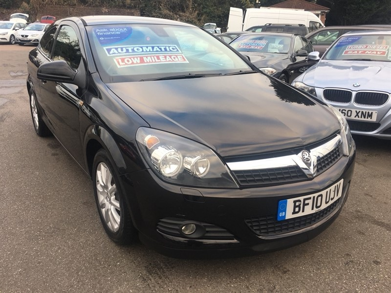 used Vauxhall Astra i VVT 16v Exclusiv Sport Hatch 3dr in rochester-kent
