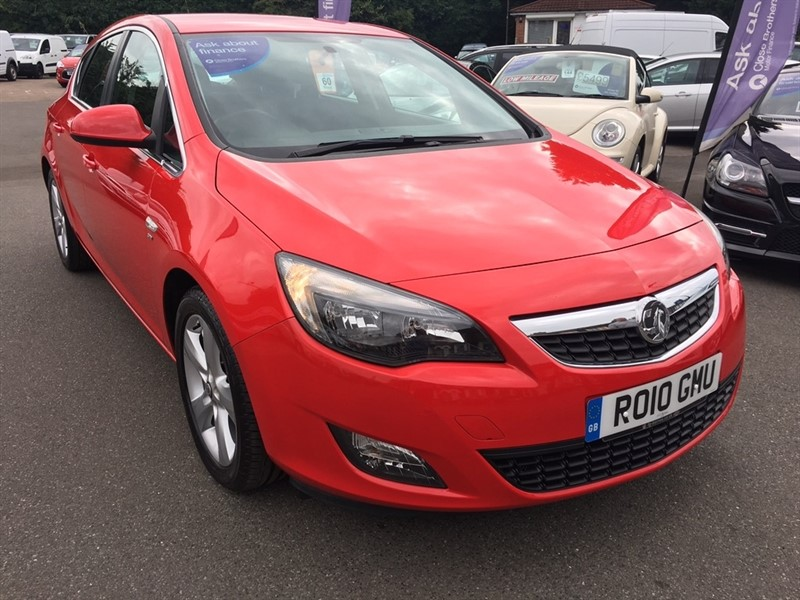 used Vauxhall Astra i VVT 16v SRi 5dr in rochester-kent