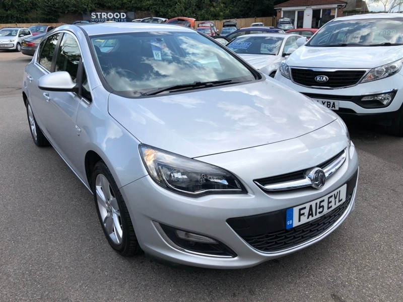 used Vauxhall Astra 1.4i SRi 5dr in rochester-kent