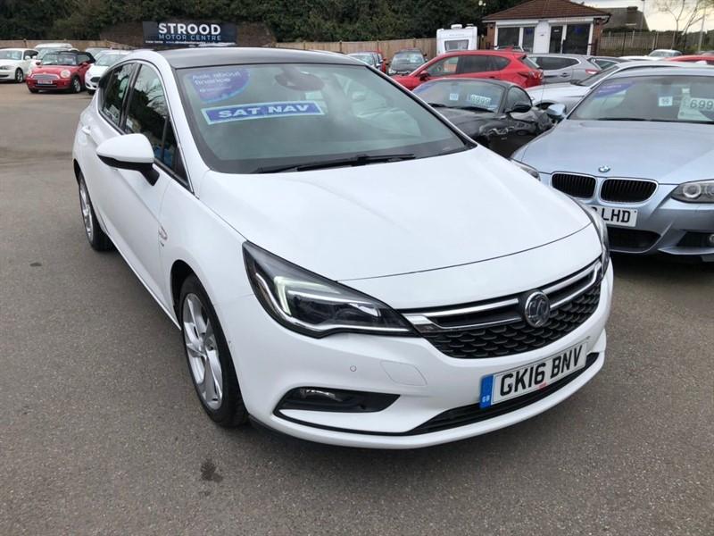 used Vauxhall Astra Turbo SRi Nav in rochester-kent