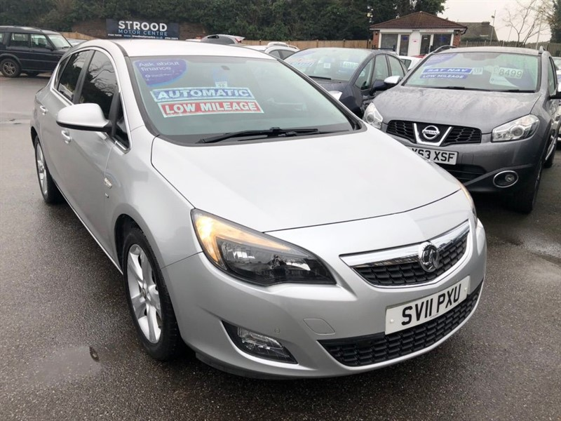 used Vauxhall Astra 16v SRi Auto 5dr in rochester-kent