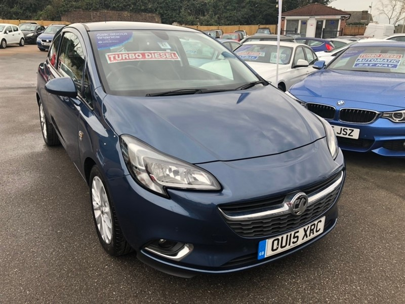 used Vauxhall Corsa 1.3 CDTi ecoFLEX SE (s/s) 3dr in rochester-kent