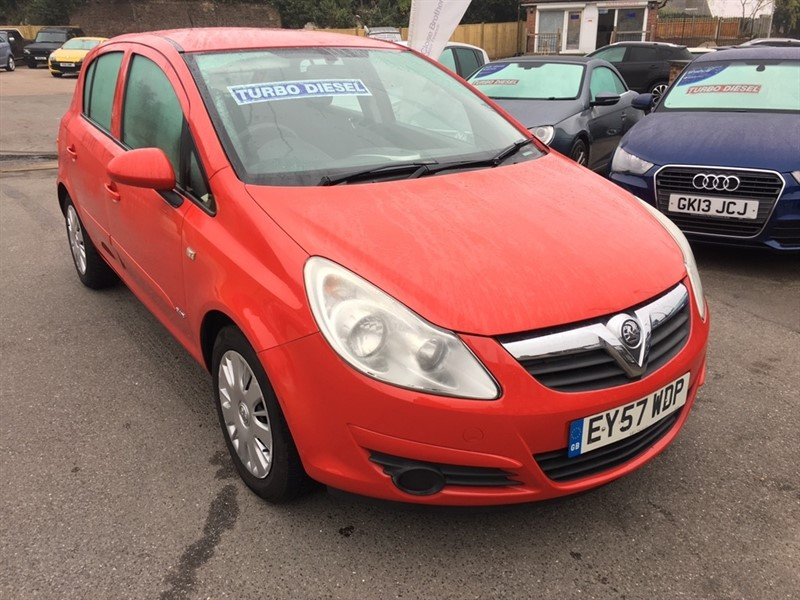 used Vauxhall Corsa 1.3 CDTi 16v Club 5dr in rochester-kent