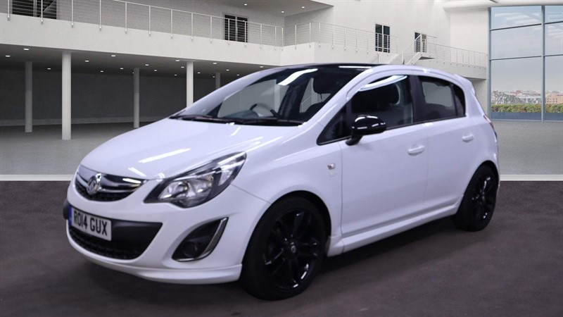 used Vauxhall Corsa 1.3 CDTi ecoFLEX 16v Limited Edition (a/c) in rochester-kent
