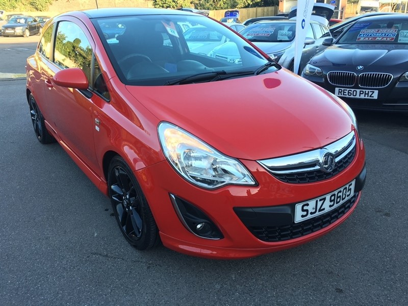 used Vauxhall Corsa 1.2 i 16v Limited Edition 3dr (a/c) in rochester-kent
