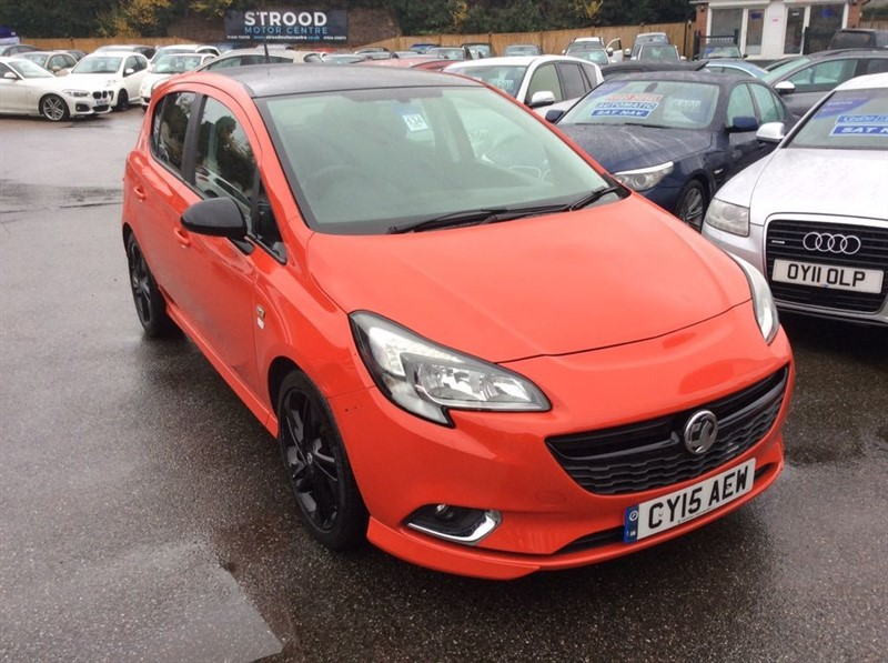 used Vauxhall Corsa 1.4i ecoTEC Limited Edition 5dr in rochester-kent