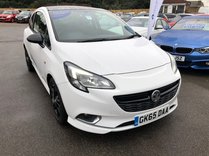 used Vauxhall Corsa i 16v Turbo Limited Edition (s/s) 3dr in rochester-kent