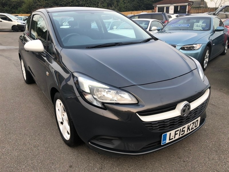 used Vauxhall Corsa 1.2 i Sting 3dr in rochester-kent