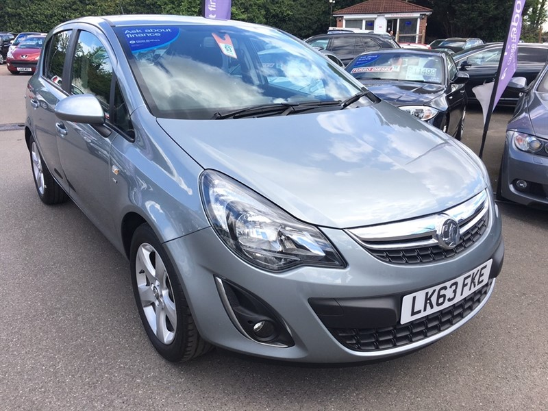 used Vauxhall Corsa 1.2 i 16v SXi 5dr in rochester-kent