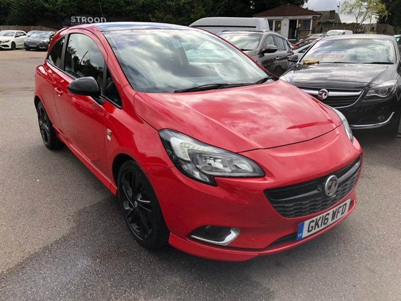 used Vauxhall Corsa ecoFLEX Limited Edition in rochester-kent