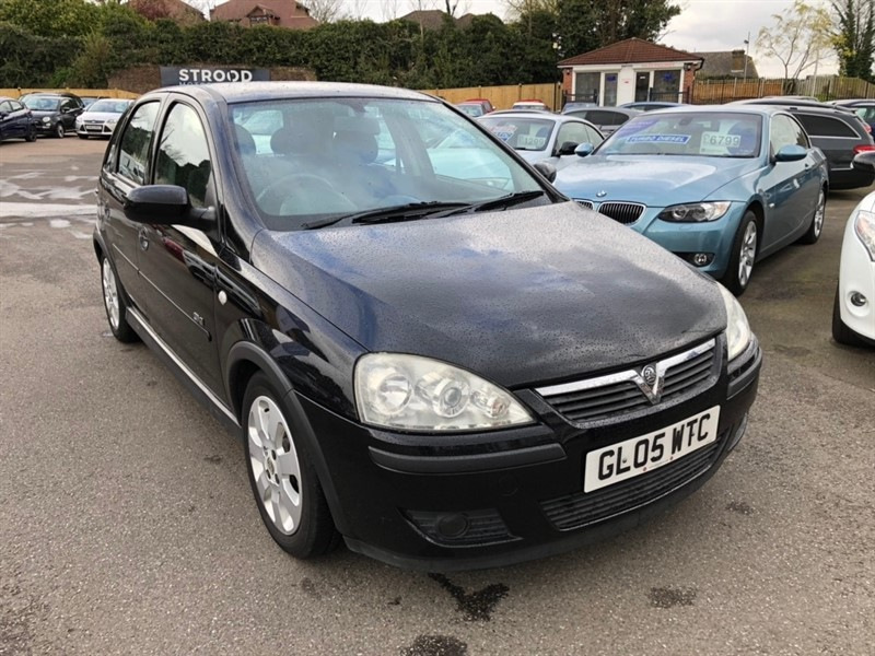 used Vauxhall Corsa i 16v SXi 5dr in rochester-kent