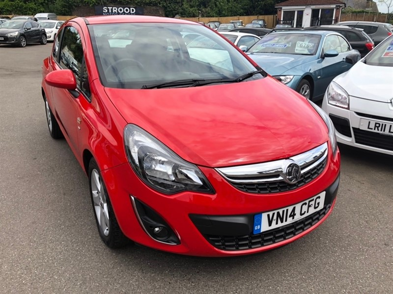 used Vauxhall Corsa i 16v SXi 3dr in rochester-kent