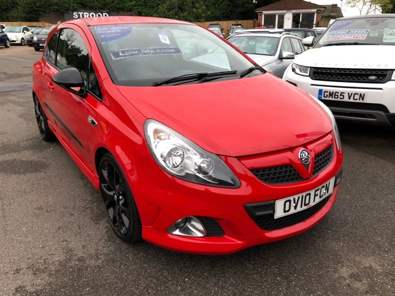 used Vauxhall Corsa i Turbo 16v VXR VXRacing Edition 3dr in rochester-kent