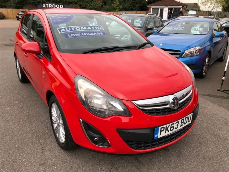 used Vauxhall Corsa i 16v SE 5dr (a/c) in rochester-kent