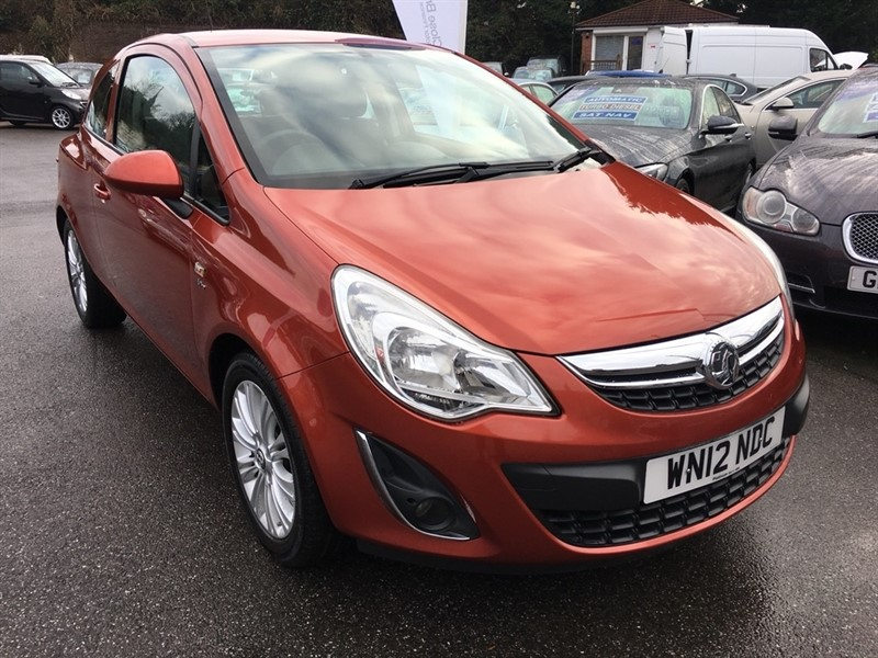 used Vauxhall Corsa i ecoFLEX 12v Active 3dr in rochester-kent