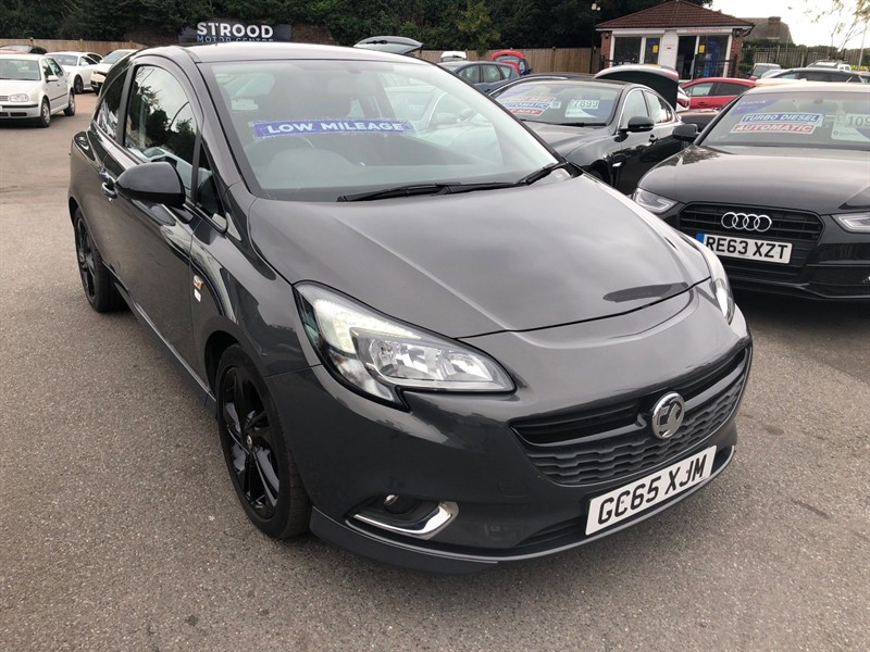 used Vauxhall Corsa ecoTEC Limited Edition in rochester-kent