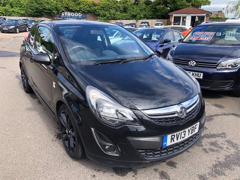 used Vauxhall Corsa 1.2 i 16v Limited Edition (a/c) in rochester-kent