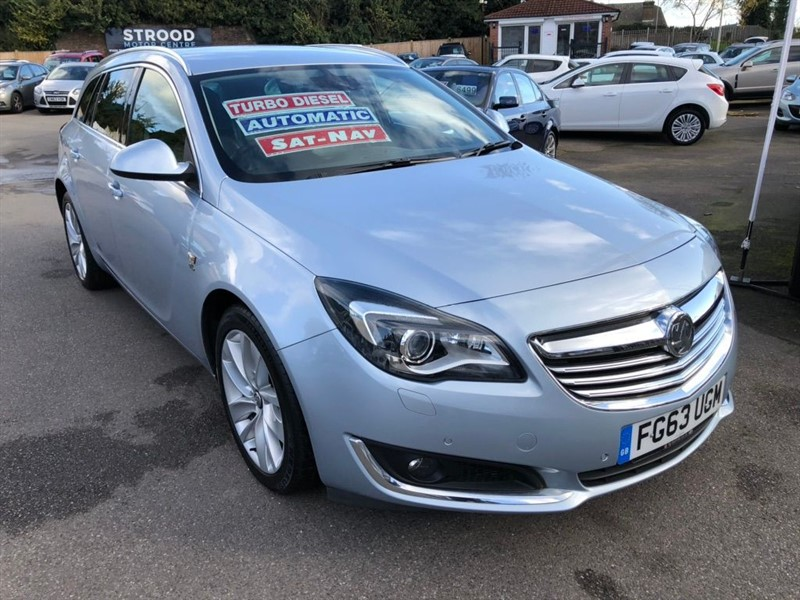 used Vauxhall Insignia CDTi Elite Sport Tourer Auto 5dr in rochester-kent