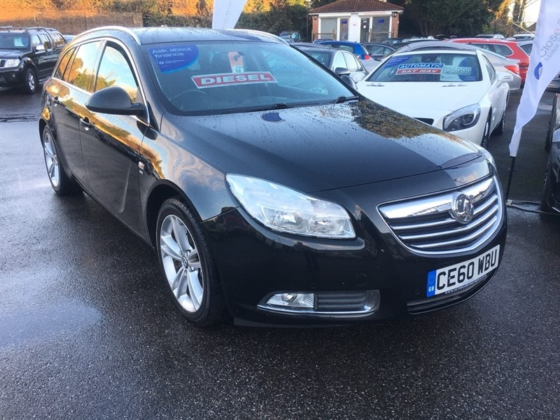 used Vauxhall Insignia CDTi 16v SRi 5dr in rochester-kent