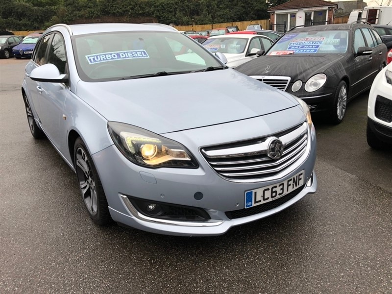 used Vauxhall Insignia CDTi ecoFLEX Limited Edition Sport Tourer (s/s) 5dr in rochester-kent
