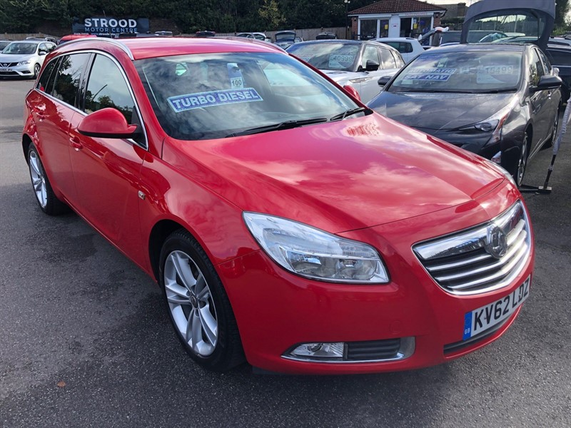 used Vauxhall Insignia 16v SRi 4x4 (s/s) in rochester-kent