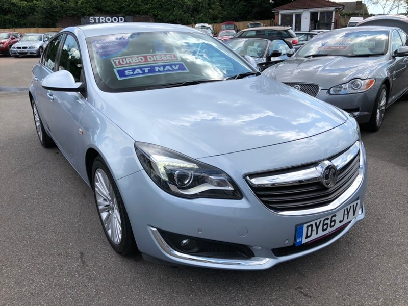 used Vauxhall Insignia CDTi ecoFLEX Design Nav (s/s) 5dr in rochester-kent