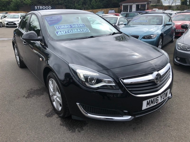 used Vauxhall Insignia CDTi Design Auto 5dr in rochester-kent