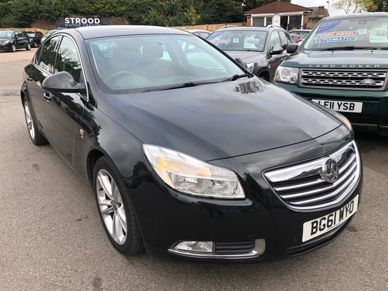 used Vauxhall Insignia CDTi ecoFLEX 16v SRi (s/s) 5dr in rochester-kent
