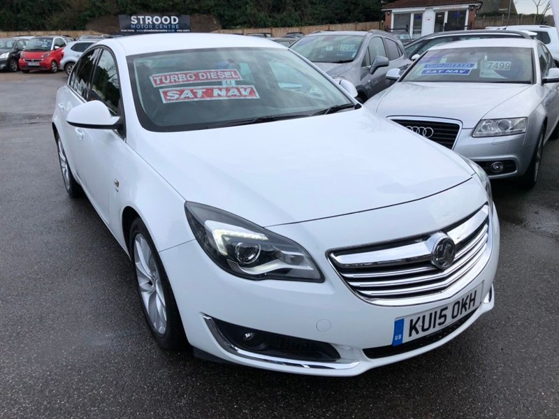 used Vauxhall Insignia CDTi ecoFLEX SRi Nav (s/s) 5dr in rochester-kent