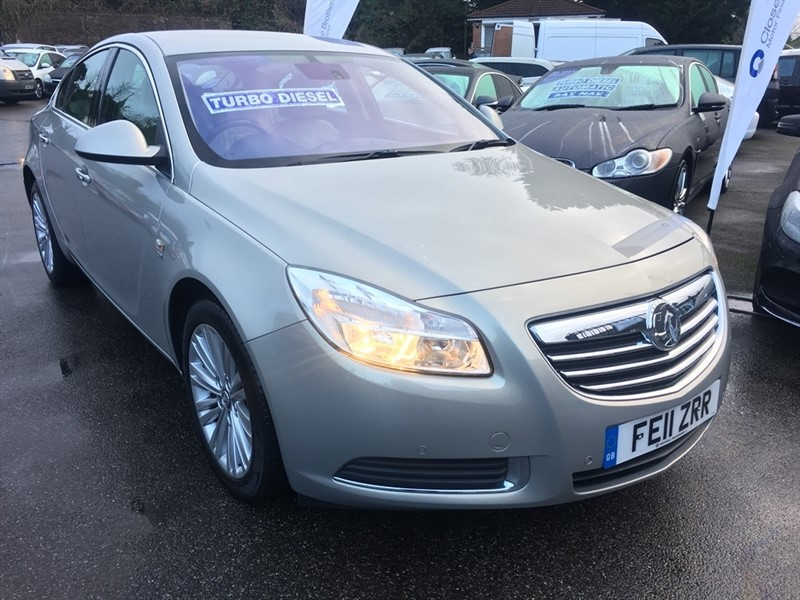 used Vauxhall Insignia CDTi 16v SE 4x4 5dr in rochester-kent
