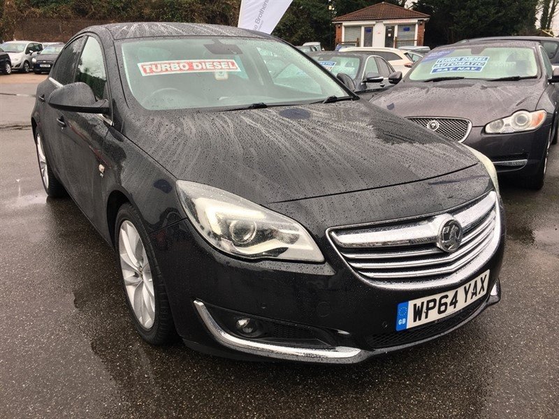 used Vauxhall Insignia CDTi ecoFLEX SRi Hatchback 5dr (start/stop) in rochester-kent