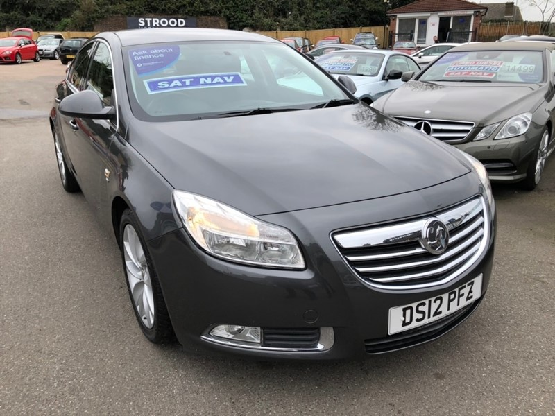 used Vauxhall Insignia i 16v Turbo SRi (s/s) 5dr in rochester-kent